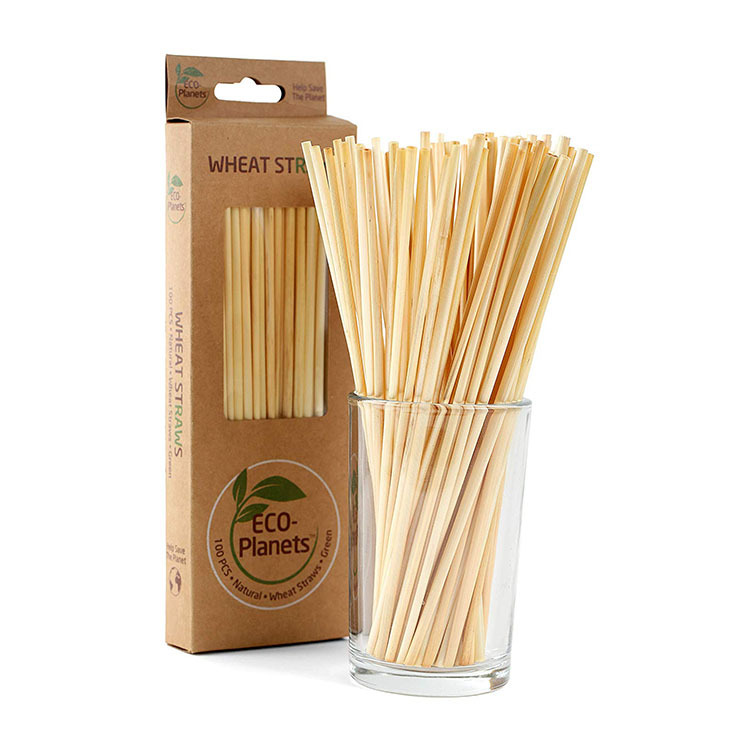 Sustainable eco products straws