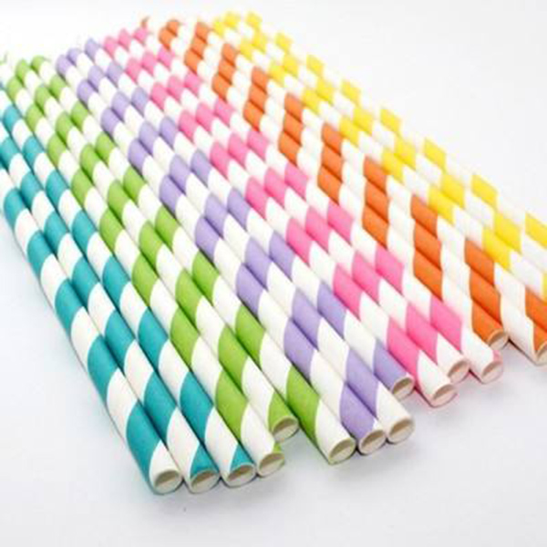 Colorful paper straws wholesale