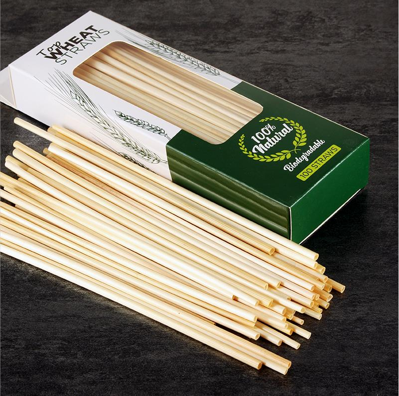Sustainable recyclable wheat straws